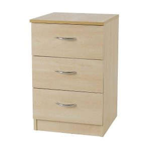 Woodgrain bedside 3 draw copy