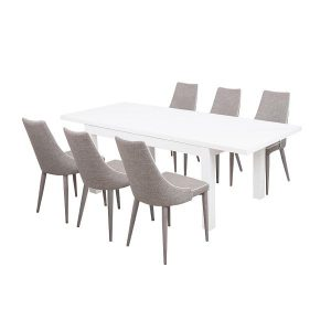 denver table + valencia chairs