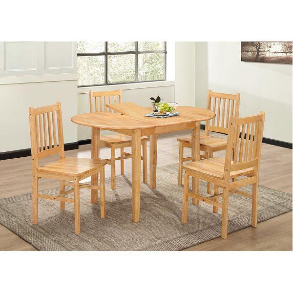 Malay Extending Oval Table Set