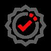badge K1F G